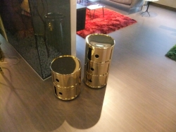 kartell componibili oro outlet sconti