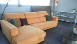 divano con chaise longue busnelli in alcantara outlet