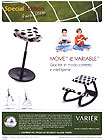 Sgabelli modello Move e Variable di Varier by Stokke - Speciale Europei 2008
